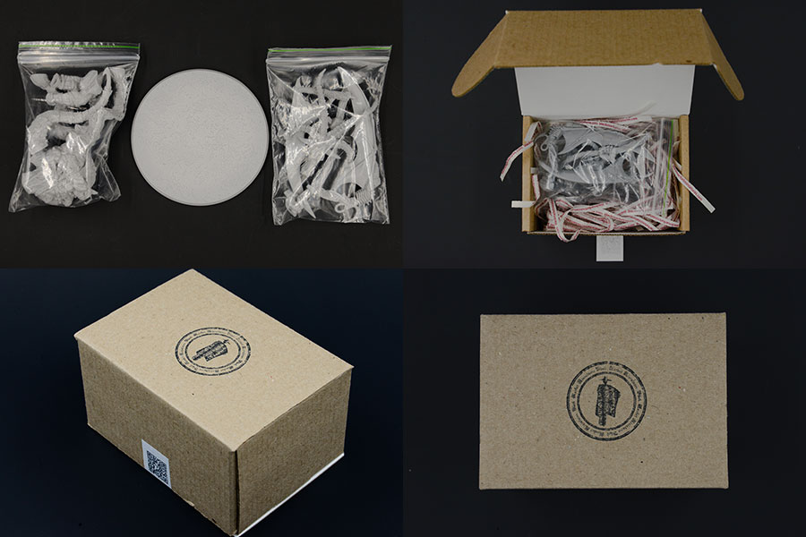 Paking box full set photo
