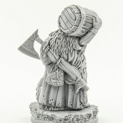 Dwarf Alcomatir Barrel Slayer Scibor Miniatures