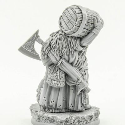 Dwarf Alcomatir Barrel Slayer Scibor Miniatures