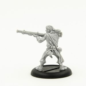 Warmachine Sea Dog Rifleman