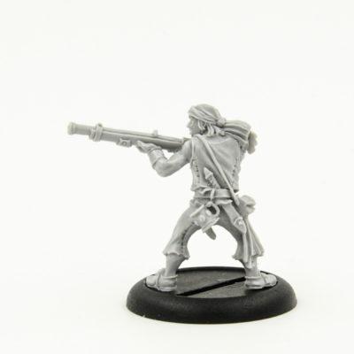 Warmachine Mercenaries Sea Dog Rifleman Catalog Photo 2