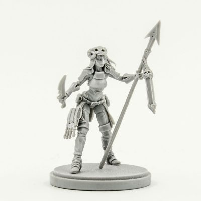 Aya the Female Survivor Kingdom Death Resin Limited Release catalog photo 1