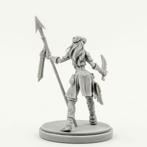 Aya the Female Survivor Kingdom Death Resin Limited Release catalog photo 2