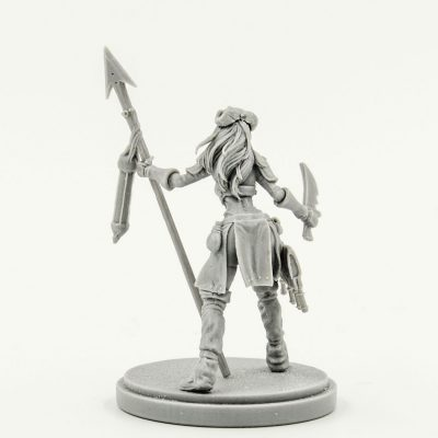 Aya the Female Survivor (Resin Limited Release)