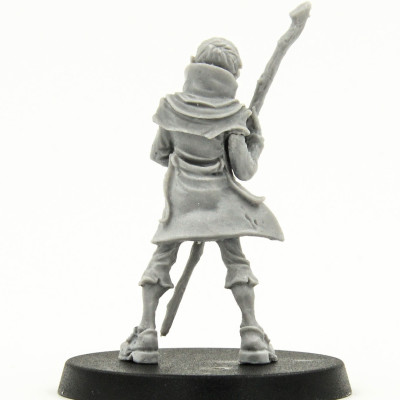Malifaux outcasts Hamelin the Plagued 1 wave catalog photo back