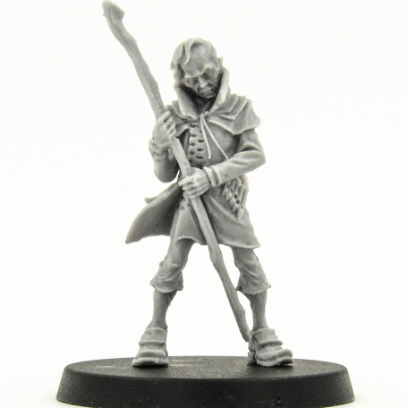 Malifaux outcasts Hamelin the Plagued 1 wave catalog photo front