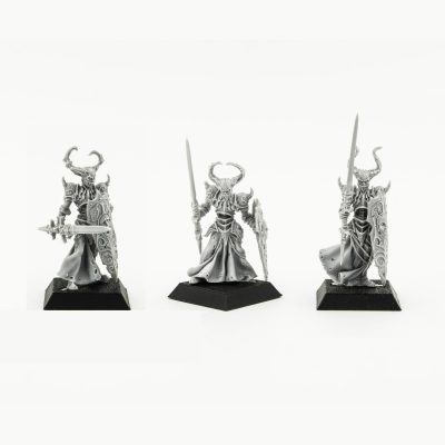 Black Paladins of Acheron Rare miniatures Undead
