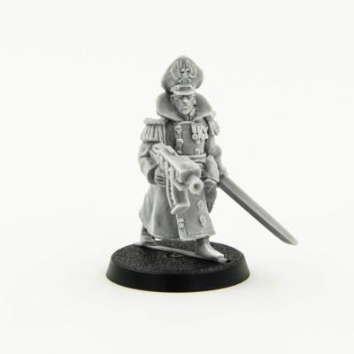 Commissar with boltgun Rare