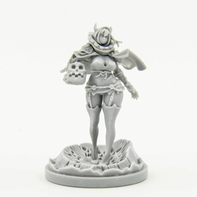 Halloween Special Pinup Twilight Knight (Resin Limited Release)