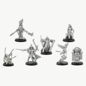Witch Hunter Inquisitor And Retinue (7 models)