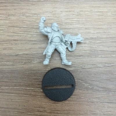 Catachan Lieutenant (Very Old)