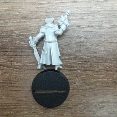 Female Commissar USA Games Day 1998 Imperial Guard