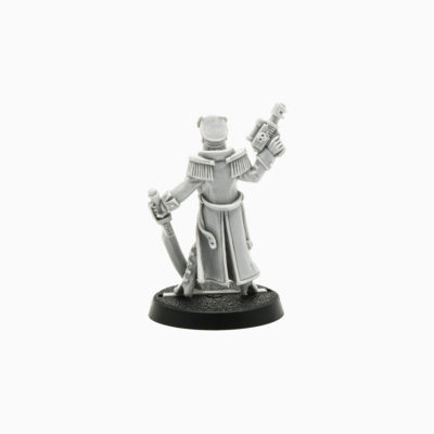 Imperial Guard Female Commissar (USA Games Day 1998 Limited Edition)