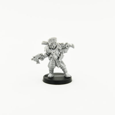 Vostroyan Officer with chainsword