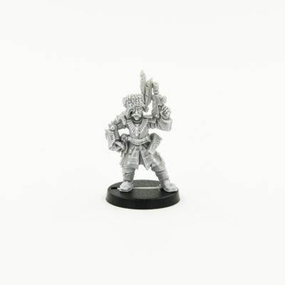 Vostroyan Officer with power fist