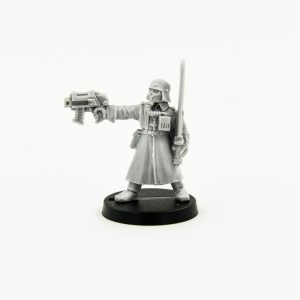 Steel Legion Commander with Power Sword & Pistol