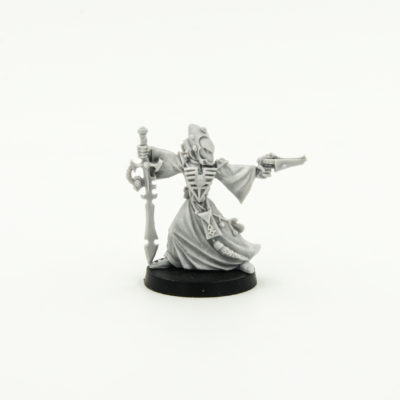 Eldar Warlock with Witchblade and Shuriken Pistol