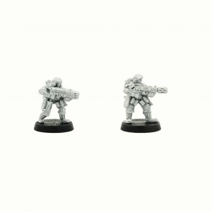 Storm troopers with Meltagun and Plazma gun, warhammer40000, warhammer 40K, Astra militarum