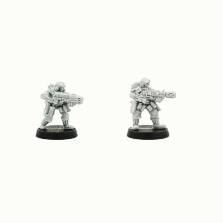 Storm troopers with Meltagun and Plazma gun, warhammer40000, warhammer 40K, Astra militarum