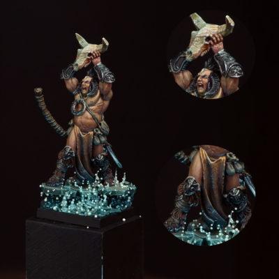 LLyad The Vorag barbarian shaman