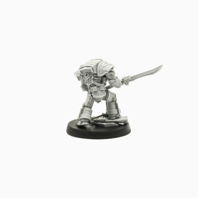 Legion Praetor Tribune in Tartaros Terminator Armor (Forge World Exclusive)