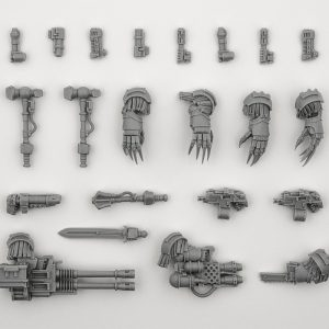 Cataphractii Special Weapon Set