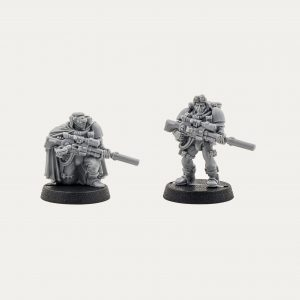 Space Marine Scout with Needle Sniper Riffle 1998 (Old and Rare)
