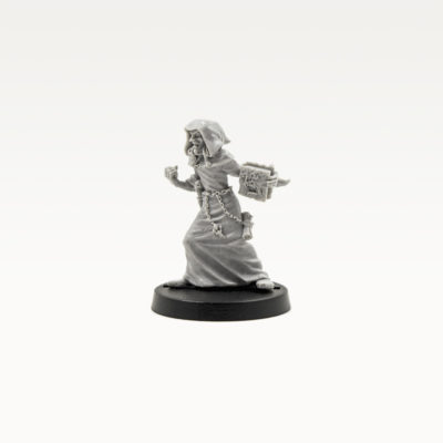 Necromancer and Skeletal Familiar(Ral Partha)
