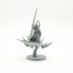 Chaos Sorcerer on disc of Tzeench(Fatemaster)