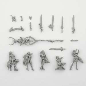 Swords of Ys, Sword-Melusine Unit