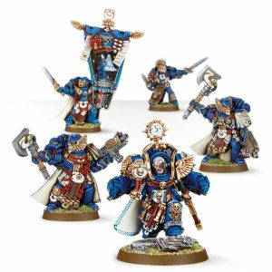 Ultramarines Marneus Calgar and Honour Guard