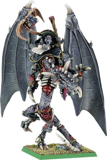 Vampire Counts  Zacharias the Everliving on Zombie Dragon