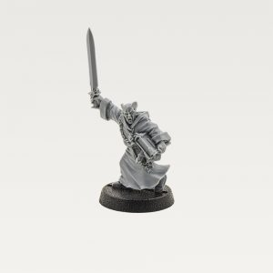 Witch Hunters Preacher with Sword
