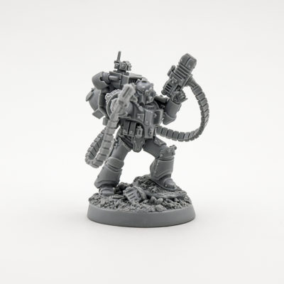Legion Moritat with Volkite Serpenta