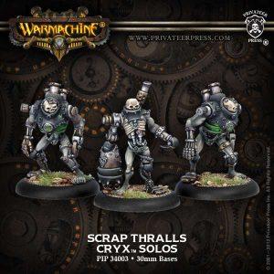 Cryx Scrap Thrall