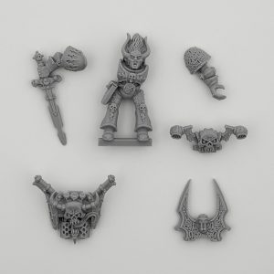 Slaanesh Doomrider Upgrade set  (Old and Rare)