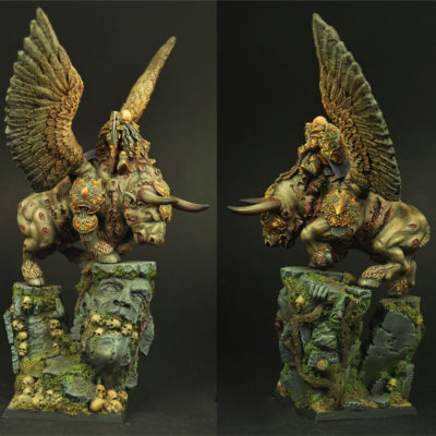 Moscal General on War Bull