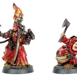 Necromunda The Redeemer&Malekev (very rare)