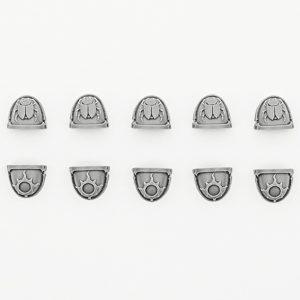 Thousand Sons Achean Pattern Shoulder Pads