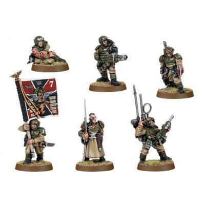 Cadian Command Squad 2005