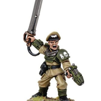 Cadian Officer with Power Sword 2