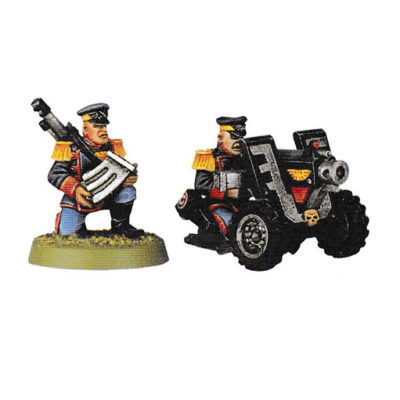 Mordian Iron Guard Heavy Bolter Team
