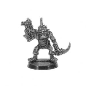 Ork Raiders Nob with Bolta and Knife 1991