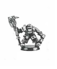 Ork WarBoss Blood Axe 1991