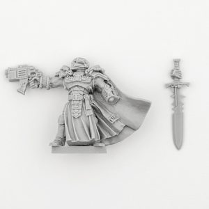 Grey Knight Inquisitor with Power Sword and Bolt Pistol