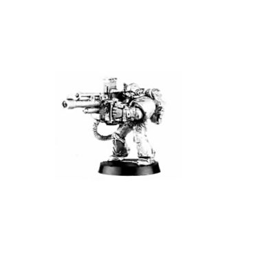 Chaos Space Marine Havok with Autocannon 1997