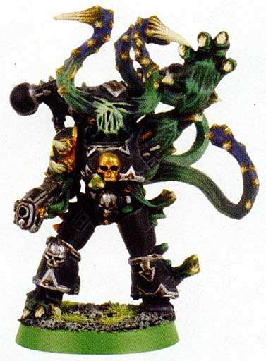 CHAOS SPACE MARINES,CLASSIC METAL CHAMPION 18F