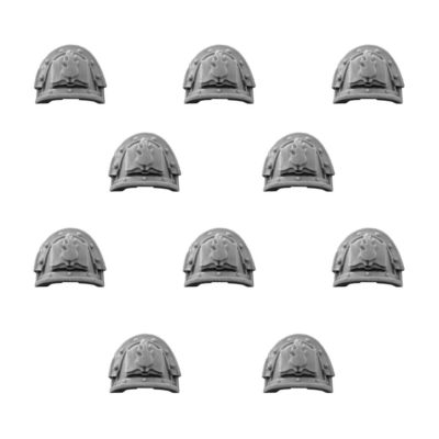 Word Bearers Legion MKIII Shoulder Pads