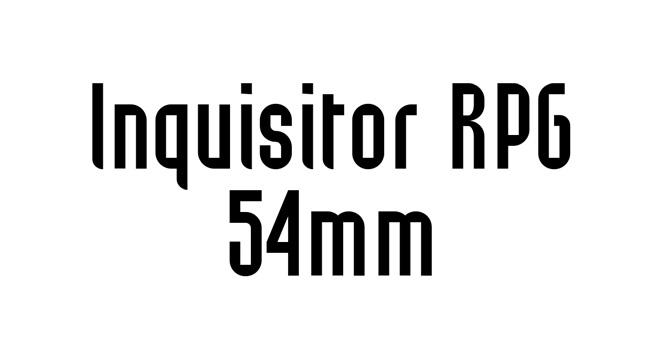 Inquisitor RPG 54mm