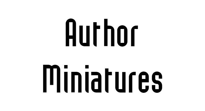 Author Miniatures